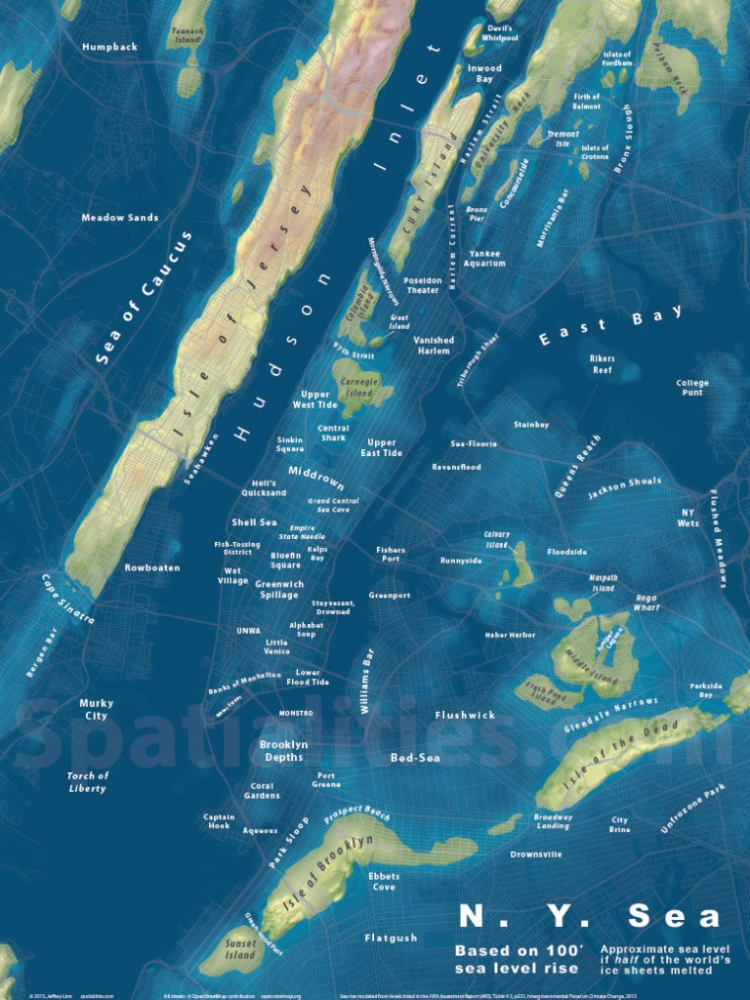 <center>The NY Sea</center>