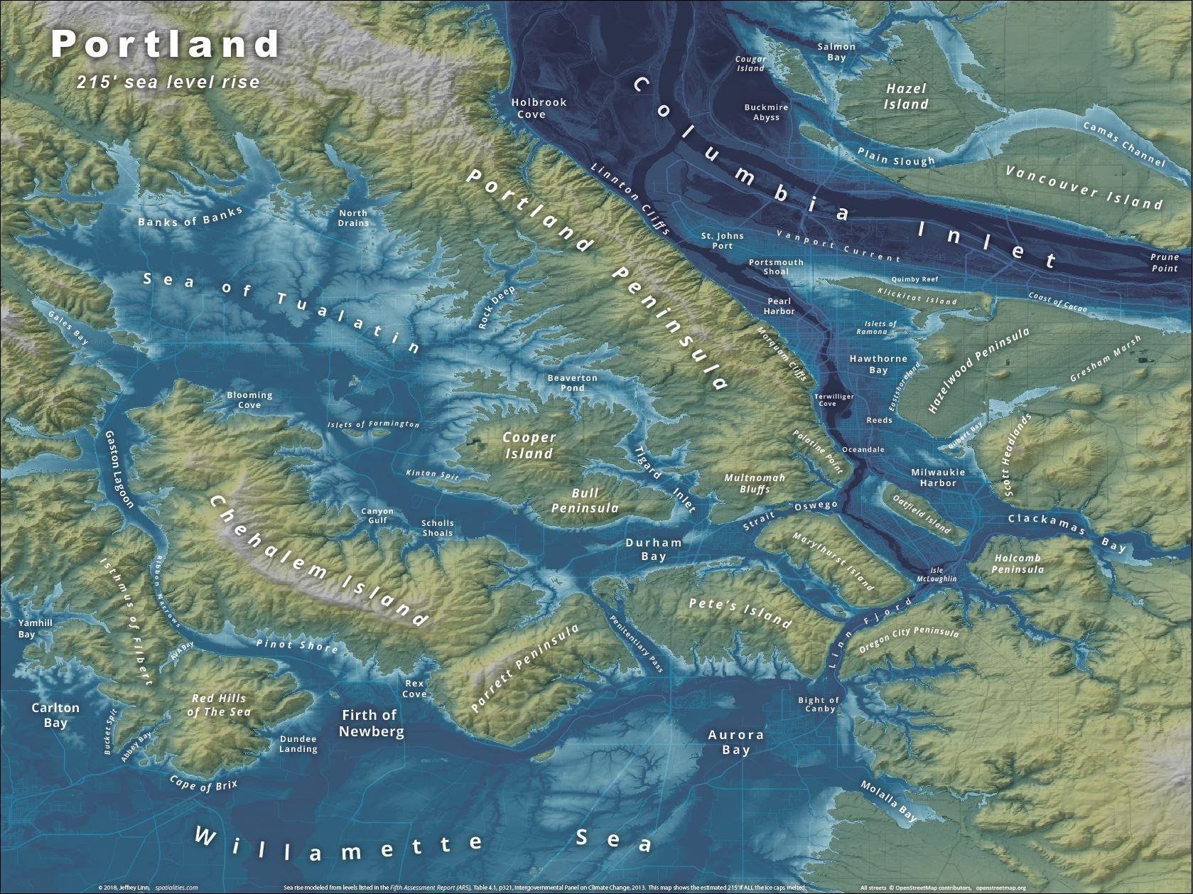 Islands of Portland | Spatialities on